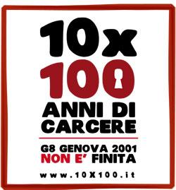 Logo della campagna 10x100